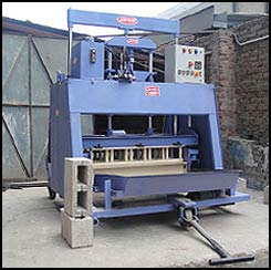 Egg Laying Type Concrete Block Machines