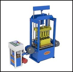 Vibro Hydraulic Block Machine